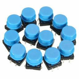 20x blue tactile switches