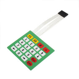 4x5 matrix keypad with light