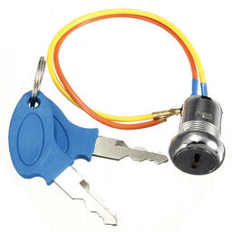 Ignition key switch