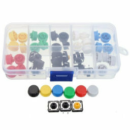 50x colored tactile switches