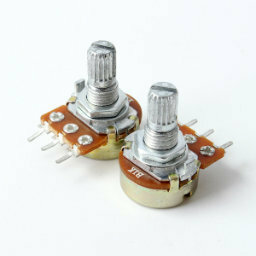 10x 5K Ohm Linear Taper Rotary Potentiometer 5KB B5K